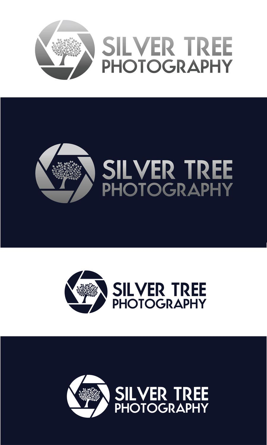 Bài tham dự cuộc thi #                                        3                                      cho                                         Design A Logo for New Photographer - Silver Tree Photography