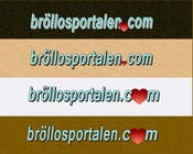 Designa en logo for Bröllopsportalen.com için Graphic Design35 No.lu Yarışma Girdisi