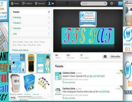 #10 para Design a Twitter background for me por Salimaldeen