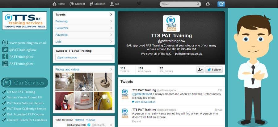 Inscrição nº                                         6                                      do Concurso para                                         Design a Twitter background for me
