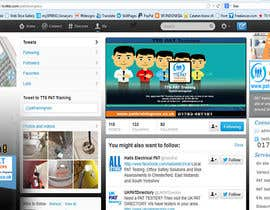 #7 untuk Design a Twitter background for me oleh kinarya