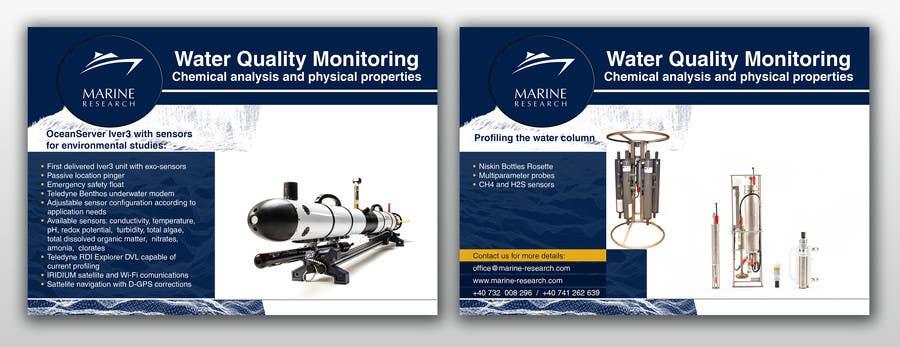 Конкурсная заявка №3 для Flyer for water quality monitoring devices