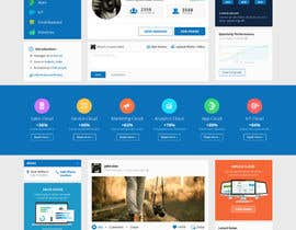 #121 para Design a Website Mockup for a Business Social Network like Linkedin de raktimz
