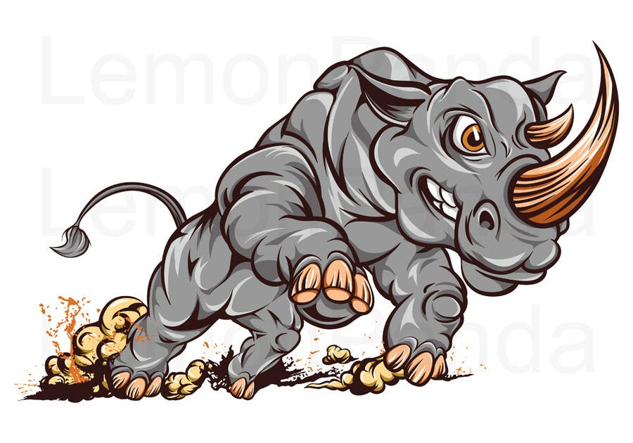 Contest Entry #23 for Illustrate Something for Charging Rhino