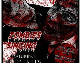 nº 24 pour art for zombie cd cover par tkillatrent