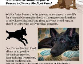 #10 for Design a Brochure for Southeast German Shepherd Rescue's Chance Medical Fund af subhashisghosh
