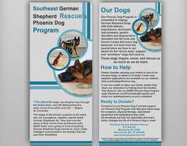 #3 for Design a Brochure for Southeast German Shepherd Rescue's Phoenix Dog Program by Artimization