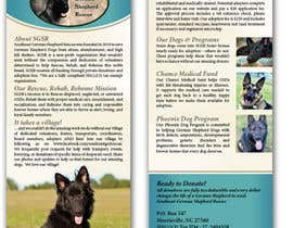 #4 para Design a Brochure for Southeast German Shepherd Rescue por tmorozova69