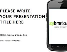 #25 for Develop a Powerpoint Template af andrushka84