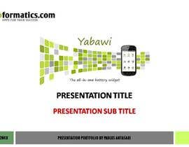 #21 para Develop a Powerpoint Template por PaulAnta