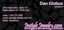 Graphic Design Конкурсная работа №22 для Business Card Design for Instyle Jewelry