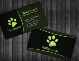 #40 для Business Card Design for GoTags.com LLC от topcoder10