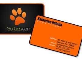 #10 pentru Business Card Design for GoTags.com LLC de către rainy14dec