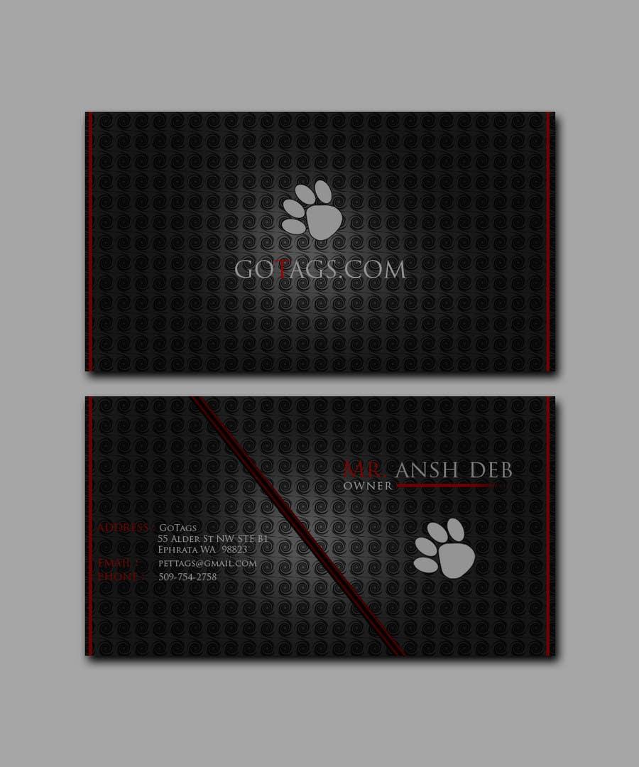 Bài tham dự cuộc thi #                                        17                                      cho                                         Business Card Design for GoTags.com LLC