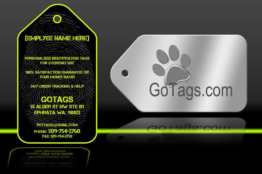 Конкурсная заявка №11 для Business Card Design for GoTags.com LLC