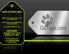 #11 untuk Business Card Design for GoTags.com LLC oleh Baddestboots