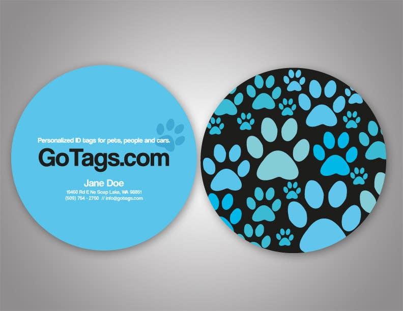 Bài tham dự cuộc thi #                                        8                                      cho                                         Business Card Design for GoTags.com LLC