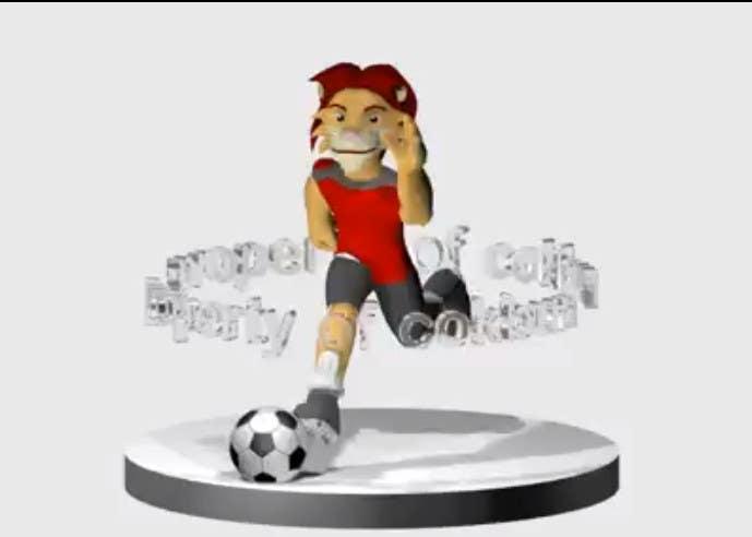 Bài tham dự cuộc thi #12 cho Create a Mascot for our company, a 3D model