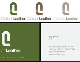 nº 131 pour Design a Logo for Corium Leather par sproggha