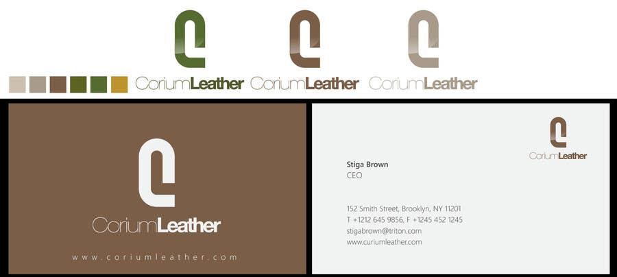 Penyertaan Peraduan #                                        132                                      untuk                                         Design a Logo for Corium Leather