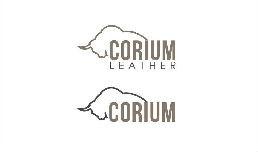 Penyertaan Peraduan #                                        64                                      untuk                                         Design a Logo for Corium Leather
