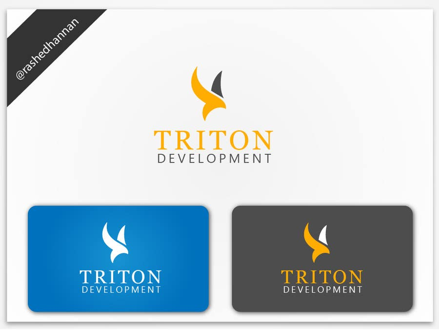 #186 for Design some Business Cards for Triton by rashedhannan