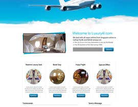 nº 18 pour Design a first class flights website. need php and html par dilip08kmar