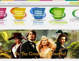 dzsouma tarafından Design header for entertainment website için no 9