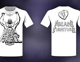 #27 for Design a T-Shirt for Arcade Furniture mixing pinballs with metal or religion, or whatever you want! af CaptaiN64