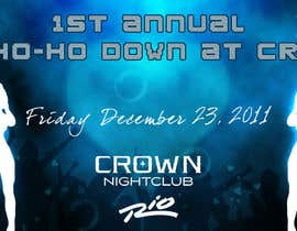 #1 para Easy Quick Facebook Graphic Design for Crown Nightclub Las Vegas por smjakkan