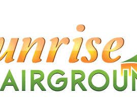 #14 for Design a Logo for Sunrise at Fairgrounds af atularora