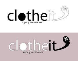 #54 for Diseñar un logotipo para empresa retail online ropa nombre y personaje cartoon by miguelllanosi