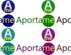 #13 cho Diseñar un logotipo que diga APORTAME , el sitio web sera aporta.me bởi dfquintero