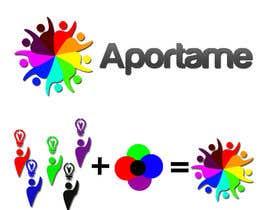 #20 for Diseñar un logotipo que diga APORTAME , el sitio web sera aporta.me by Apophis91