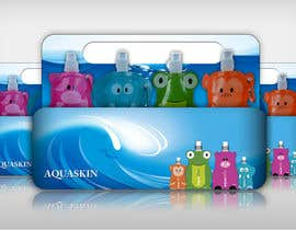 #5 for Design cool pouch style packaging for AQUASKIN... by Artimization
