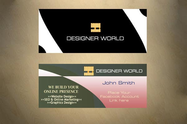Konkurrenceindlæg #692 for Top business card designs - show off your work!