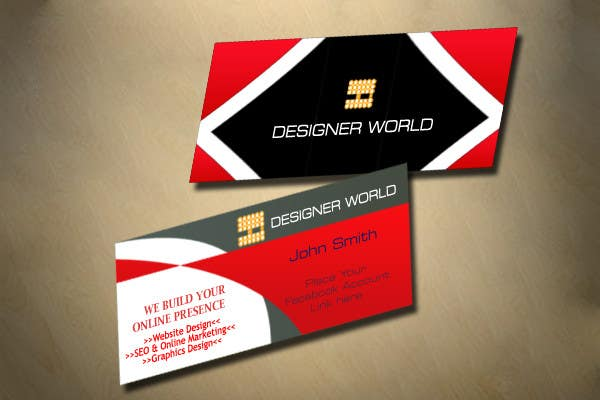 Konkurrenceindlæg #704 for Top business card designs - show off your work!