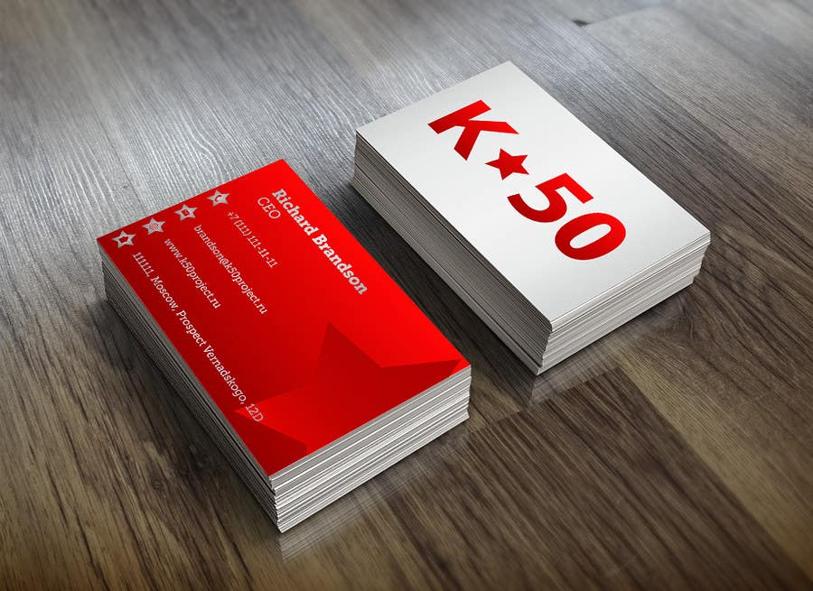 Konkurrenceindlæg #800 for Top business card designs - show off your work!