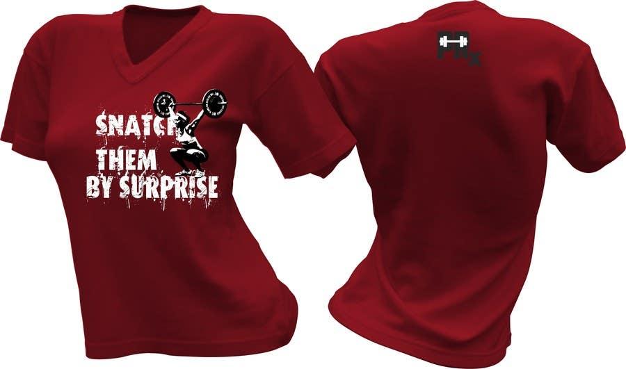 Penyertaan Peraduan #26 untuk Design a CrossFit Themed T-Shirt for us