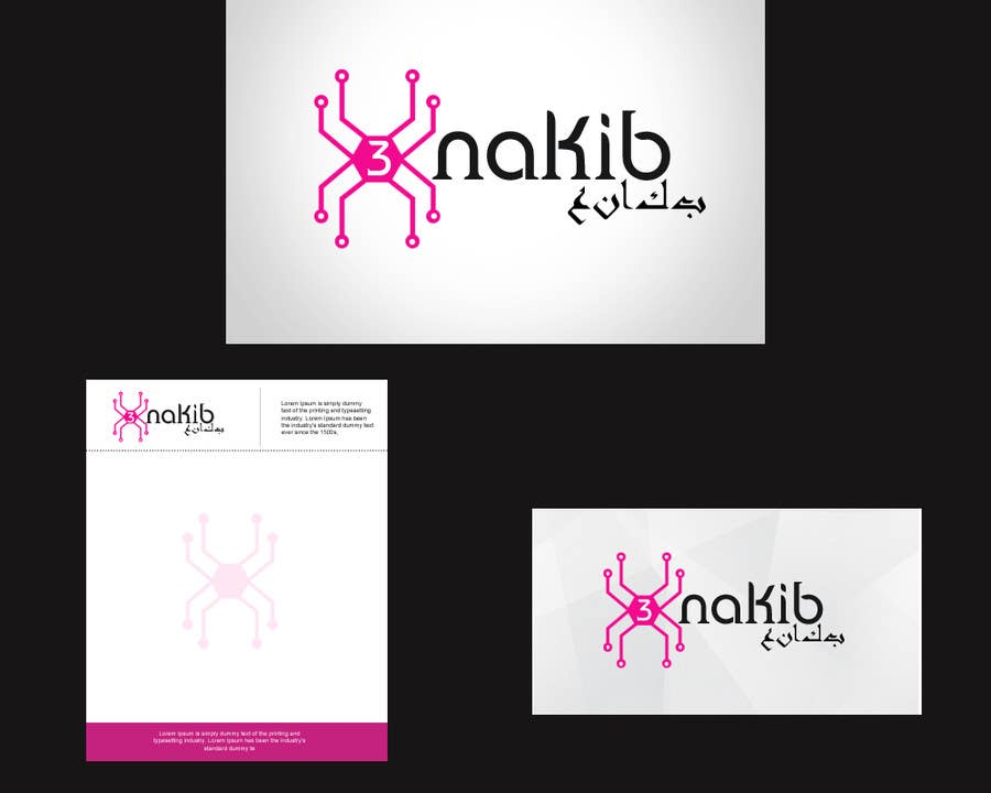 Kilpailutyö #20 kilpailussa Develop a Corporate Identity for 3nkaib Technologies (Spiders)
