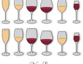 #9 cho Design some graphics to illistrate different types of wine glass bởi SimonMerritt
