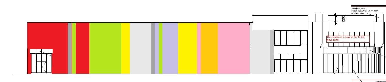 Inscrição nº 37 do Concurso para Design a new wall panel (2D) for commercial warehouses