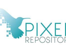 """#55 para Logo for New Website """"Pixel Repository"""" por SabreToothVision"""