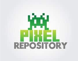 "#20 untuk Logo for New Website ""Pixel Repository"" oleh shipbuilding"