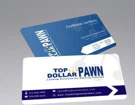 #111 pentru Business Card Design for Top Dollar Pawnbrokers de către SadunKodagoda
