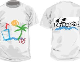 #91 para Tshirt design for Big Beach por IrinaPredescu