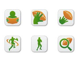 #8 para Design some Icons for a Football Mobile Application por raikulung