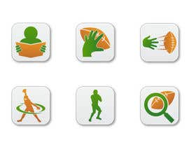 #11 para Design some Icons for a Football Mobile Application por raikulung