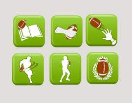 #9 para Design some Icons for a Football Mobile Application por akhil0474