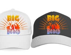 #25 para Baseball Cap Design for Big Beach por zackushka